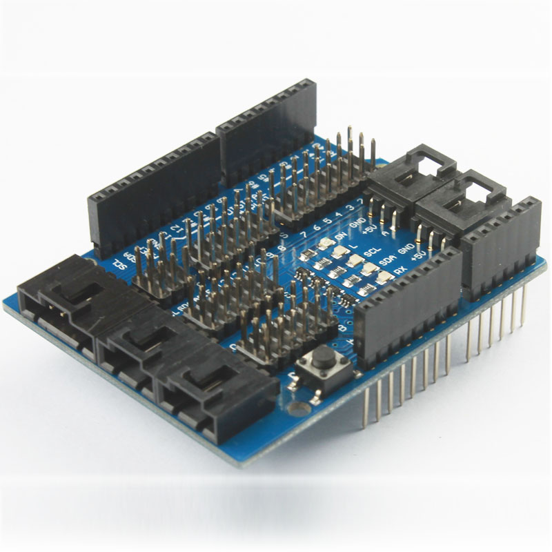 Breakout shield for arduino uno or airduino sandbox