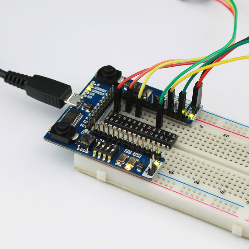 Breadboard power supply v and with micro usb